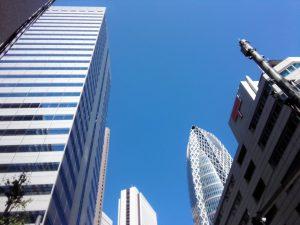 新宿の青空